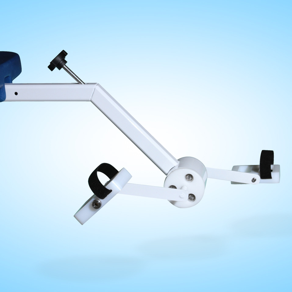 cycle attachment product image, light blue background, no lift shown
